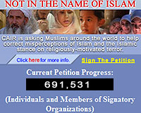 Not in the Name of Islam Petition
